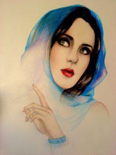 Portrait Drawings by Alexa M. Anton