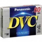 Panasonic AY-DVM80EJ MiniDV Cassette (80 Minute) by Panasonic. $4.95. 80 minutes recording timeDiamond-Like (DL) carbon-coated thin film for durabilityReduced tape friction for a stable running performance. Save 67% Off!