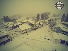 Main St/ and Noble Ave.. in Shoemakersville, Pa.  ( Blizzard of 2016 )