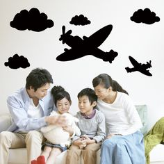 Find More Wall Stickers Information about Home Decoration Removable Water proof Airplanes Clouds Chalkboard Wall Stickers Blackboard Sticker adesivo de parede,High Quality sticker iphone,China sticker city Suppliers, Cheap sticker background from Han's Wonderland on Aliexpress.com