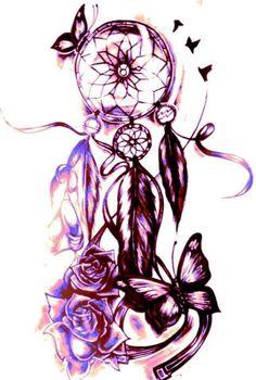 Dream Catcher and Butterflies