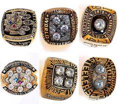 Steeler super bowl rings