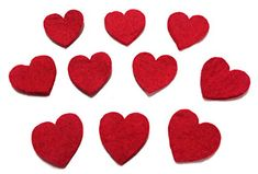 Yarn Place Felt Wool Felted Die Cut Hearts 10 Pieces Color: Red Size: 25mm x 25mm Yarn Place http://www.amazon.com/dp/B00P46PU1Y/ref=cm_sw_r_pi_dp_DXbyub0DD49VS