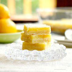 Moist Lemon Bars
