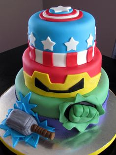 Kaylins cake inspiration Without the large fairy on top Cakes
