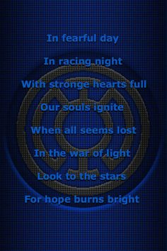 Blue Lantern Core Oath. If I could be any lantern, I would be a blue lantern.