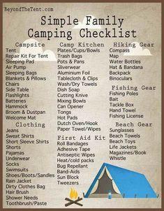 Familien- und Autocamping-Checkliste – Zelten Family and auto camping checklist Auto Camping, Outdoor Camping, Camping Trailers, Camping Cabins, Camping Jokes, Camping Glamping, Camping Outdoors, Camping Shop, Beach Camping