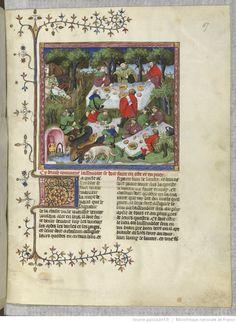 Gaston Phébus, Livre de la chasse. — Gace de la Buigne, Déduits de la chasse.   Gallica