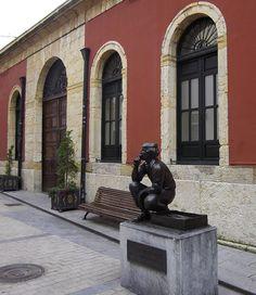 Plaza del Pescado, le vendeur de poissons, Oviedo, ,principauté des Asturies, Espagne. | Flickr: Intercambio de fotos