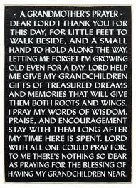 grandparents prayer - Google Search