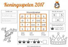 Placemat Koningsspelen 2017 » Juf Leontine