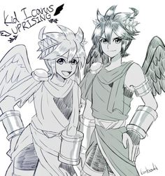 516 Best Kid Icarus Images On Pinterest In 2018