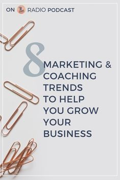 8 Marketing and Coaching Trends to Help You Grow Your Business on It Girl Radio Podcast // Jessica Nazarali -- Small Business Marketing, Internet Marketing, Online Marketing, Digital Marketing, Content Marketing, Media Marketing, Creative Business, Business Tips, Online Business
