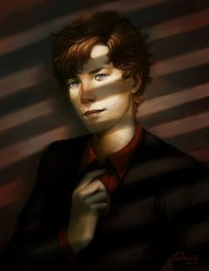 """He moved away from the shadows,""""Hello there."""" An evil grin smiled across his face."""