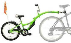 Trailers 85040: Bike Trailer Copilot Seat Bicycle Kid Ride Weeride Children Family Outdoor Green -> BUY IT NOW ONLY: $112.2 on eBay!