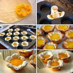 Receita de Flores de limão - Show de Receitas