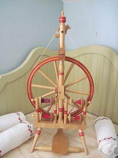 Norwegian Princess spinning wheel