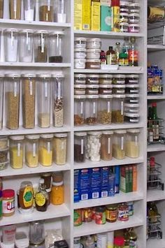 The Best DIY and Decor: Pantry Organising Ideas