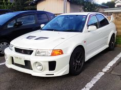Mitsubishi Lancer Evolution V in Gunma