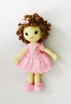 Being Familiar With Aran Yarn - Women Plan Crochet Doll Tutorial, Crochet Doll Pattern, Crochet Dolls, Crochet Patterns, Fabric Dolls, Paper Dolls, Crochet Fairy, Amigurumi Doll, Crochet Animals