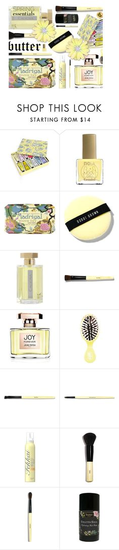 """""""She Does Not Use Margarine"""" by sharee64 ❤ liked on Polyvore featuring beauty, Crabtree & Evelyn, ncLA, Claus Porto, Bobbi Brown Cosmetics, L'Artisan Parfumeur, Jean Patou, Fekkai, Butter London and Burt's Bees"""