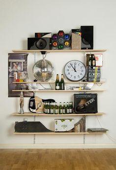 Skull Bookshelves From Everyday Items
