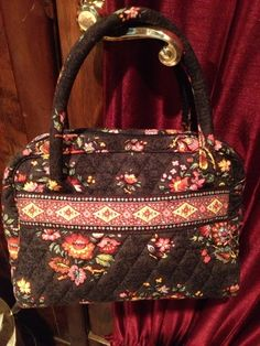 Vera Bradley Chocolat Brown Purse with Coin Purse. Starting at $18 on Tophatter.com!