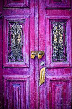 Door // Planet Earth // Magenta