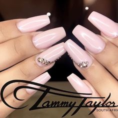 273 Best Pink And White Nails Images In 2019 White Nails Nails Tammy Taylor