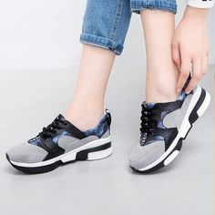 Casual shoes women height increasing superstar shoes mixed colors tenis feminino cotton fabric light zapatos mujer 2017 fashion
