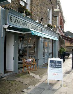 Broadway Bookshop, Broadway Market, Hackney E8