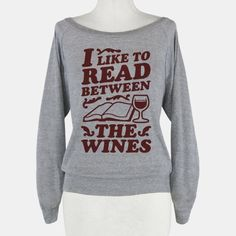 I Like to Read Between the Wines