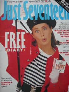 Just Seventeen - I had this issue!
