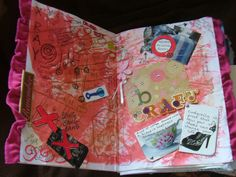 weekly art journal page