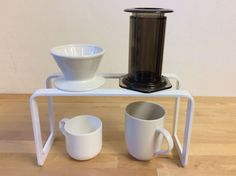 Coffee pour over stand for drip coffee and by BonstudioCafe
