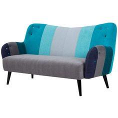 Diese stylische #Couch im #Retro #Look ist ein #Highlight in Deinem #Zuhause. ♥ ab 929,00 €