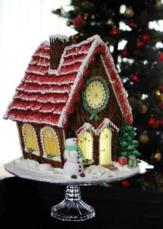 This Ginger House if FAB & I love the snowman ,clock & just all it really!