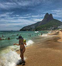 Rio, nature, paisagem; natureza @elisairgirl