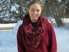 An Original. Bulky Cowl Designed and by SpruceCottageKnits on Etsy, $90.00