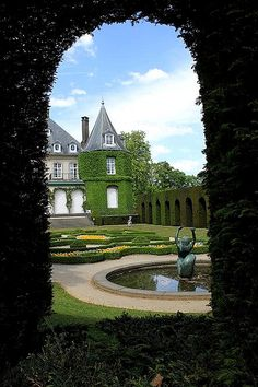Chateau de la Hulpe was built in 1842 in French style by the Marquis of Bethune with beautiful landscape park.