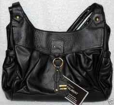 Leather Concealed Carry Purse Handbag Hobo Gun Concealment 7034 Black or Brown   eBay