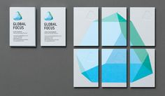 Global Focus - Identity Design by Studio Bold