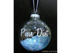 DIY cute Christmas ideas. pixie-dust-ornament
