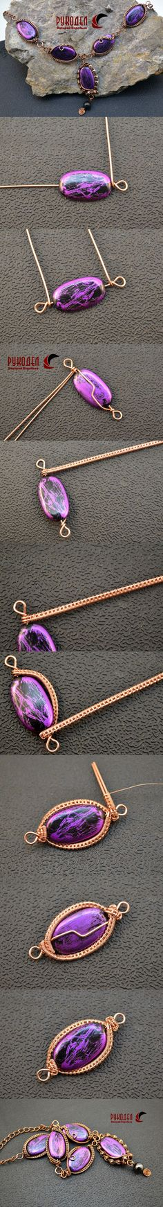 pictures for simple wrap #Wire #Jewelry #Tutorials