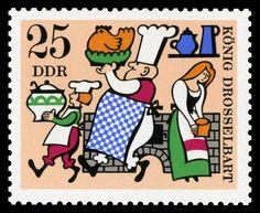 Stamp (1960s) Germany