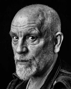John Gavin Malkovich (born December is an American actor, director, and film producer. Foto Portrait, Portrait Photography, Black And White Portraits, Black And White Photography, John Gavin, John Malkovich, Old Faces, Hollywood Men, Celebrity Portraits