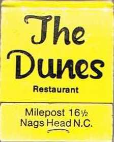 The Dunes Restaurant - Nags Head, North Carolina