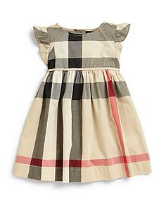 Burberry Toddler's Woven Check Dress