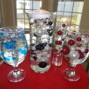 DIY Centerpiece w/ Water Beads and Vase Pearls