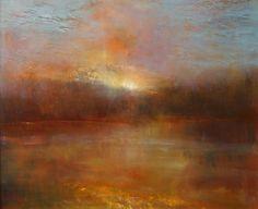 'Acadian Sunset III' oil painting by Maurice Sapiro